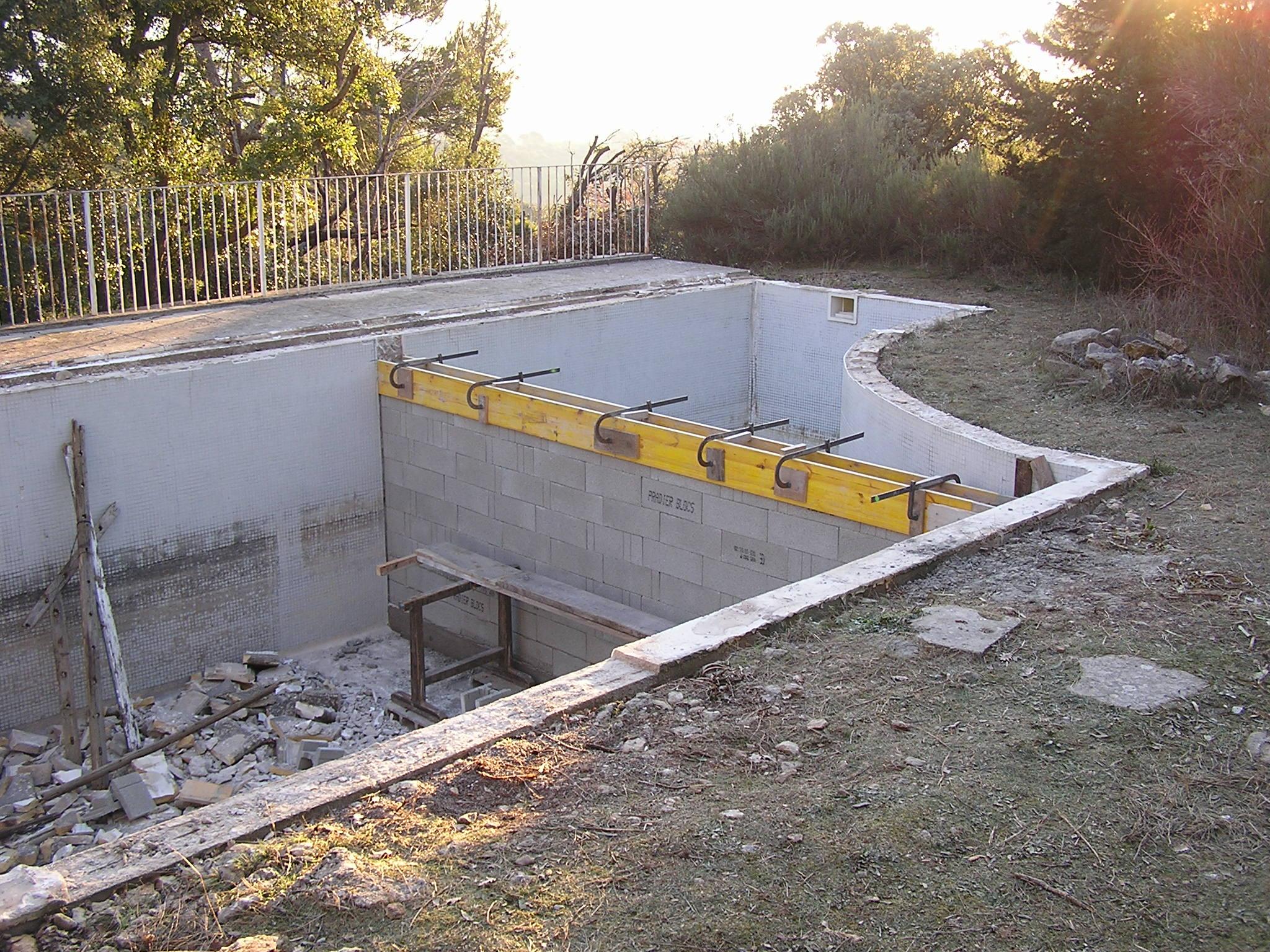 Pendant la rénovation