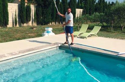 L'entretien annuel piscine ponctuel